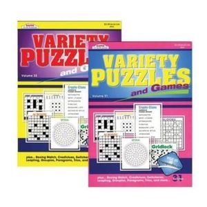KAPPA VARIETY 98 PAGE PUZZLE AND GAME BOOKS
